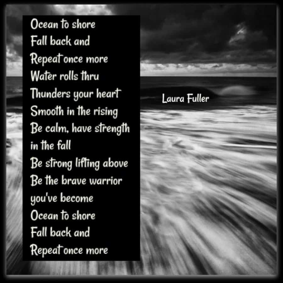 poem oceans to shore