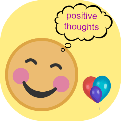 are you a positive or negative person happy face