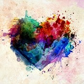 abstract are heart