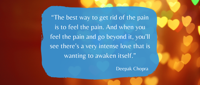 Inspirational Quotes To Give You Strength feel the pain