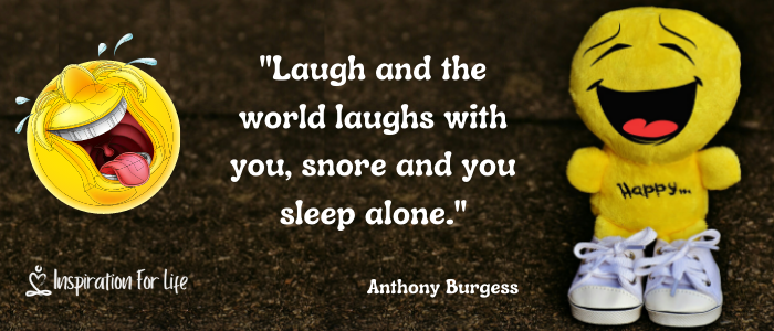 laugh and snore