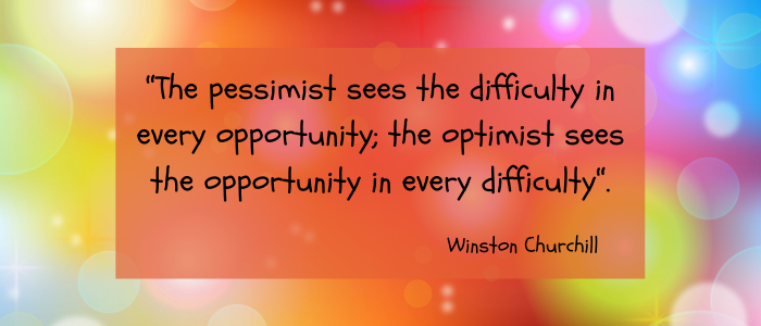 Quotes For A Positive Attitude pessimist