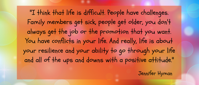 Quotes For A Positive Attitude life is difficult