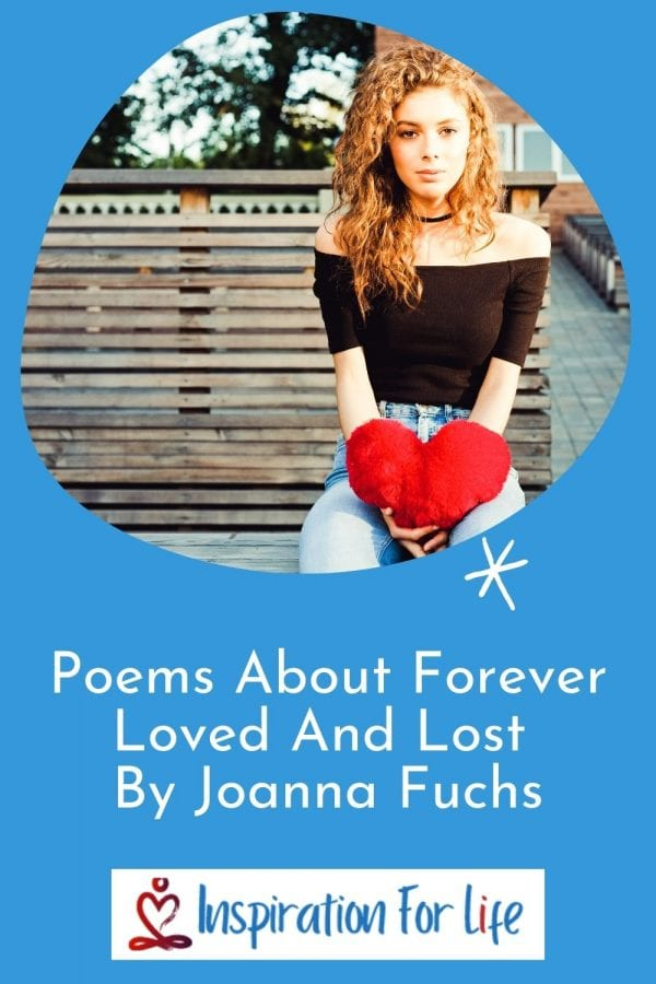 Poems About Forever Loved And Lost By Joanna Fuchs pinterest pin