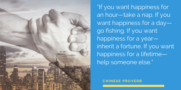 INSPIRATIONAL quote by Chinese Proverb