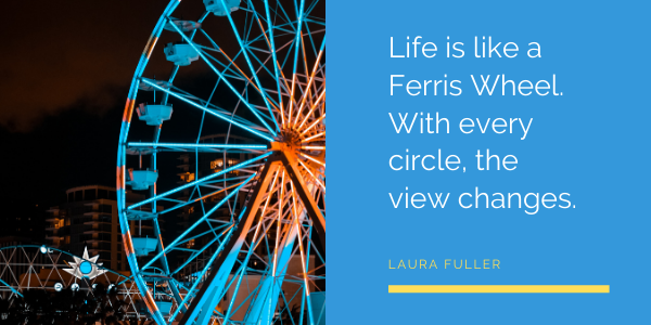Inspirational Quotes by Laura Fuller ferris wheel