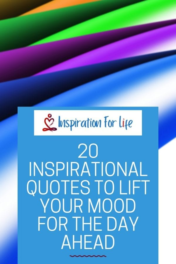 pinterest pin for inspirational posts