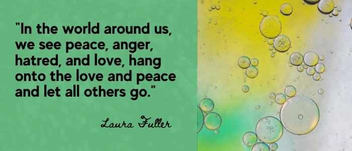 Self-Improvement ,  quotes world anger and peacr