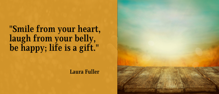 Quotes, Self-Improvement  smiling heart