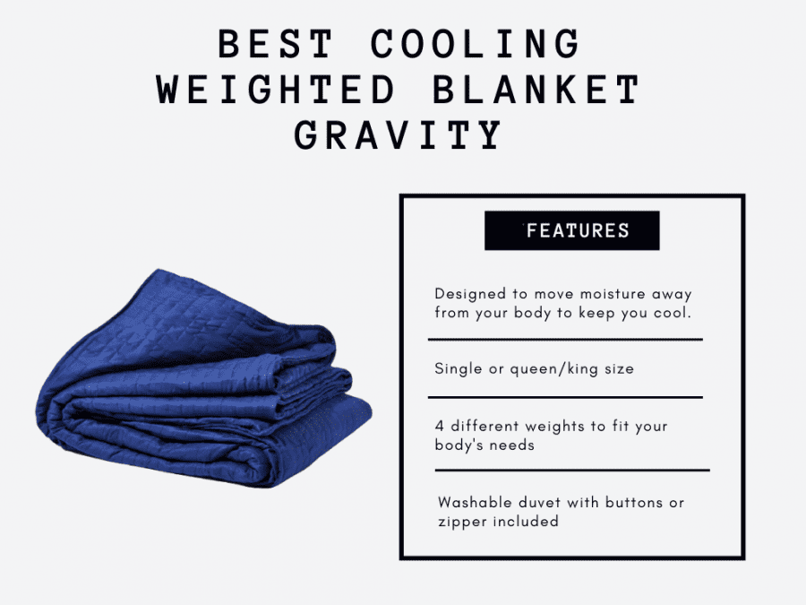 weighted blankets cooling blanket features3