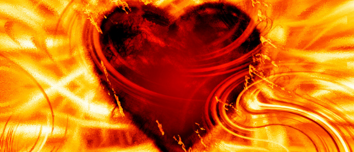 Poems To Inspire Growth, Laura Fuller burning heart