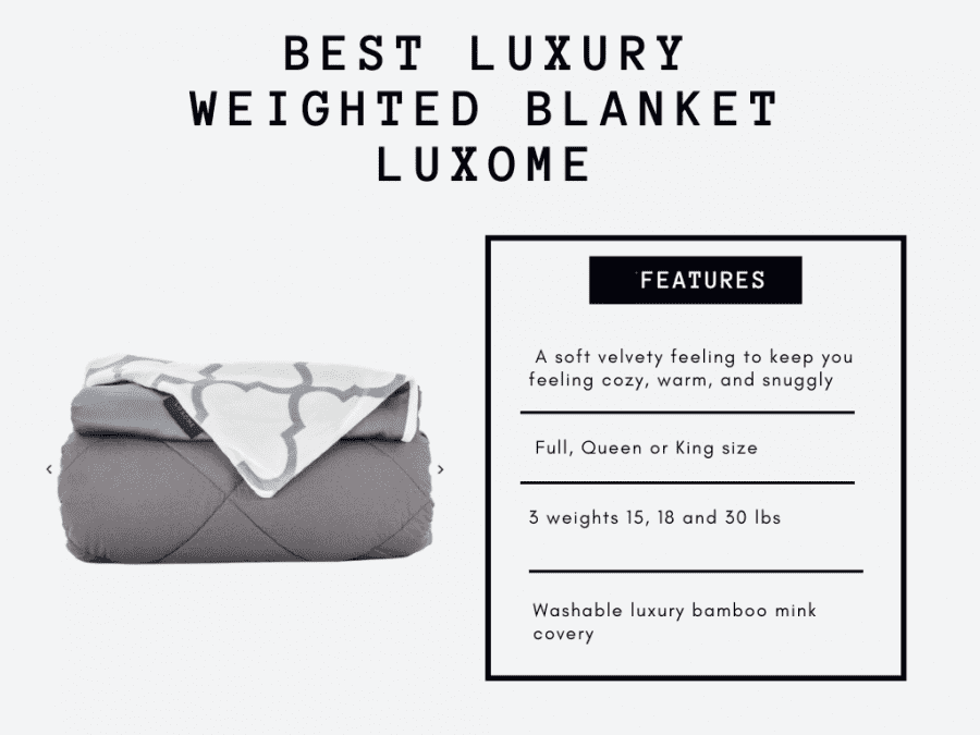 weighted blankets luxome2