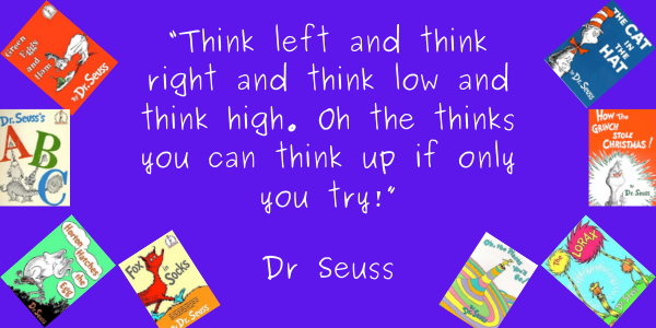 Dr. Seuss Quotes Life Lesson thin