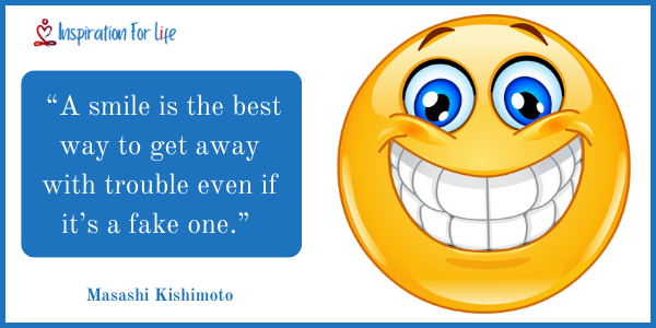 Cute Smile Quotes fake one