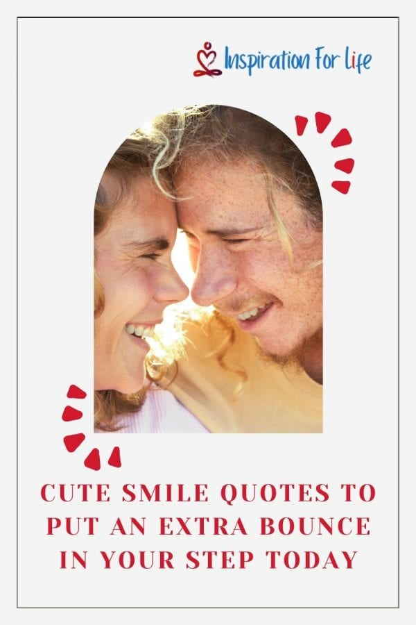 Cute Smile Quotes pin