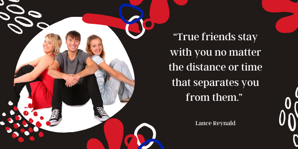 Long Distance Friendship Quotes Never Far, Never Lost true friends