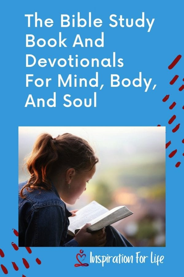 The Bible Study Book And Devotionals For Mind, Body, And Soul pin