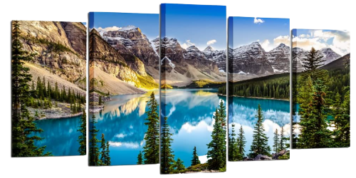 mountains wall hangings