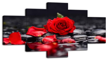 red rose wall hangings