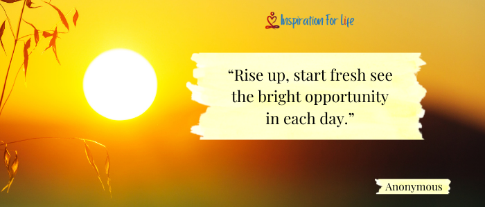 Good Morning Quotes rise