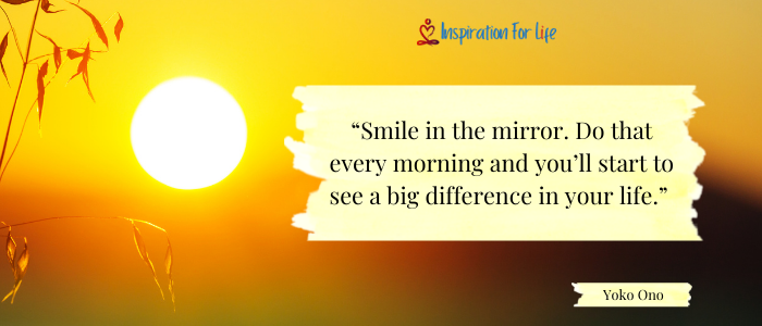 Good Morning Quotes smile