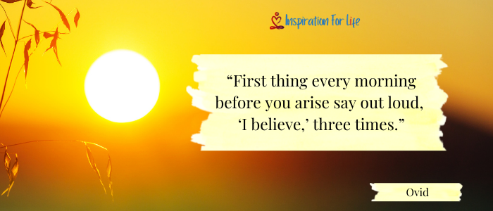 Good Morning Quotes first thing