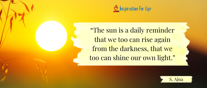 Good Morning Quotes the sun