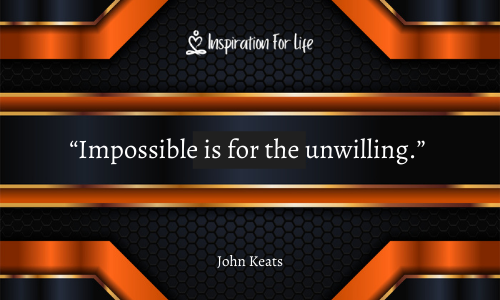 IMPOSSIBLE FOR UNWILLING