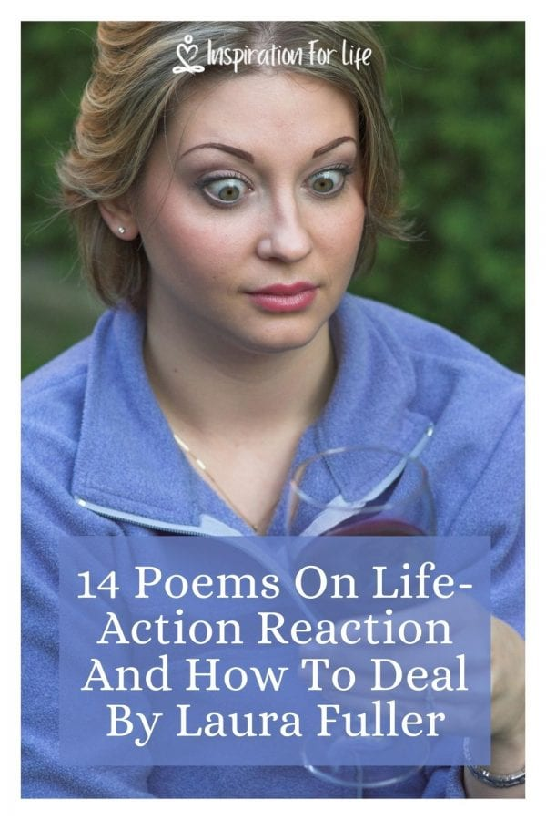 14 Poems On Life-Action Reaction And How To Deal By Laura Fuller pin
