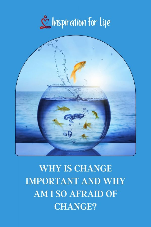 Why Is Change Important And Why Am I So Afraid Of Change pin