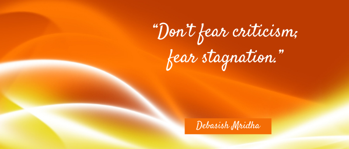 Motto in life don't fear